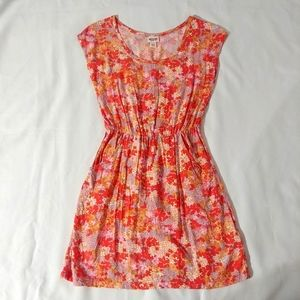Mossimo Sleeveless floral dress with pockets